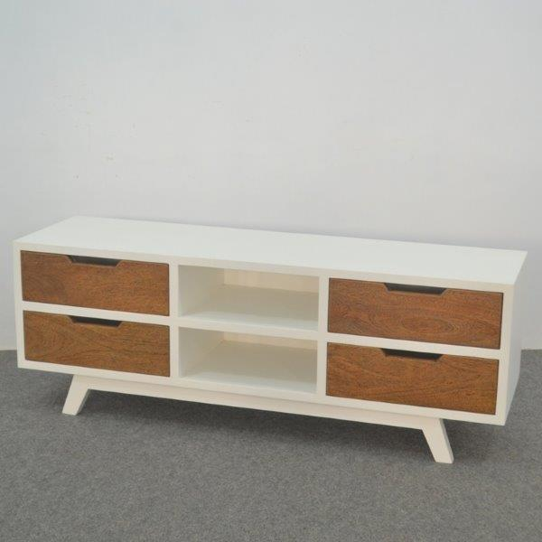Vivid TV Stand 4 Dwr - SW - ECA - Via Imports - Manufacturers and